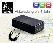 GPS-Ortungssystem mobiler LIVE Magnet GPS Tracker Objekt Ortung 1 Jahr AKKU