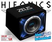 Hifonics Auto Subwoofer Bassbox Bassreflex ZRX-10 25cm 1000W