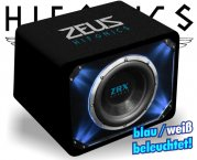 Hifonics Auto Subwoofer Bassbox Bassreflex ZRX-12 30cm 1500W