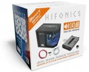 Hifonics 1000 W Woofer Car Hifi Set inkl. Endstufe + Kabelsatz
