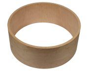 Zylinder-Gehäuse für Subwoofer 500x150 mm Volumen 24,9 l