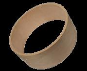 Zylinder-Gehäuse für Subwoofer 550x150 mm Volumen 30,6 l