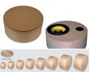 Holz-Zylinder-Gehäuse aus Multiplex für Subwoofer uvm