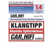 JL Audio Auto Subwoofer Bassbox CS112G-W6v3 600W