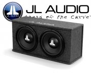 JL Audio WX-Serie Dual Bassbox CS212-WXv2