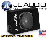 JL Audio Auto Subwoofer Bassbox flach 400W CS110TG-TW3