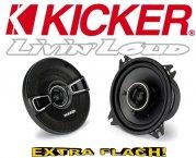Kicker Auto Lautsprecher KS-Serie 2-Wege-Koax KSC44 100mm 150W