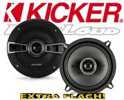 Kicker Auto Lautsprecher KS-Serie 2-Wege-Koax KSC54 130mm 150W