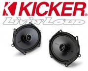 Kicker Auto Lautsprecher KS-Serie 2-Wege-Koax KSC684 160x200mm oval 150W