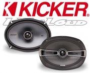 Kicker Auto Lautsprecher KS-Serie 2-Wege-Koax KSC694 160x230mm oval 300W
