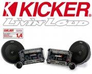 Kicker Auto Lautsprecher QSS674 165mm 200W Testnote 1,4