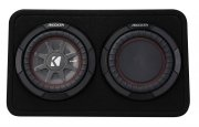 Kicker Subwoofer TComp RT82 extra kleine Bassbox 600W 2ohm
