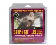 Stop&Go Marderschutz Marderabwehr Hochspannung Ultraschall Typ 8 plus minus