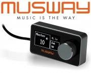 Musway DRC1 Fernbedienung Remote für DSP M6 und D8v2