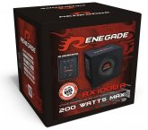 Renegade aktiv Auto Subwoofer Bassbox RX1000A 25cm 200W