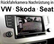 VW Skoda Seat Rückfahrkamera nachrüsten Composition Media Discover Media Discover Pro Bolero Amundse