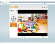Set Mobile Überwachungskamera WLAN HD Netzwerkkamera IP Kamera- LE200