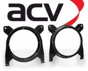 Lautsprecher Adapterringe für Volvo S70 V70 1996-2000 Front Heckablage 165mm